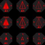 Ship and missile counters; Present, Past and Last