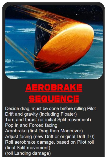 Aerobrake steps